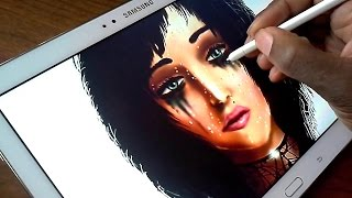 getlinkyoutube.com-Drawing with John on a Samsung Galaxy note 10.1 2014 Edition