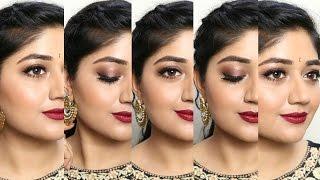 getlinkyoutube.com-Indian Wedding Makeup Look with Clinique   corallista