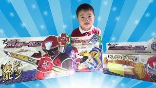 ニンニンジャー おもちゃ DX忍者一番刀/ガマガマ銃/ニンニンバックル/シュリケン Shuriken Sentai Ninninger Toy