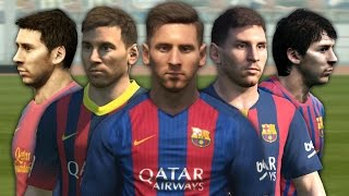 getlinkyoutube.com-Messi from PES 4 to PES 2017