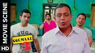 Maa Ke Ghar Jaana Hai | Golmaal 3 | Comedy Movie Scene width=