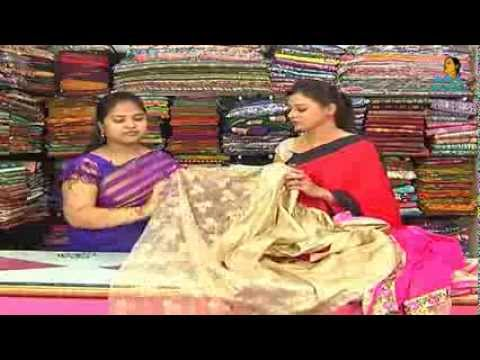 Latest Fancy Sarees with Price | Sogasu Chuda Tarama_3-12-2013 | Vanitha TV