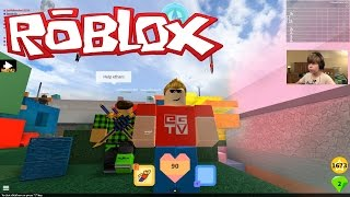 getlinkyoutube.com-Let's play ROBLOX! Super Bomb Survival