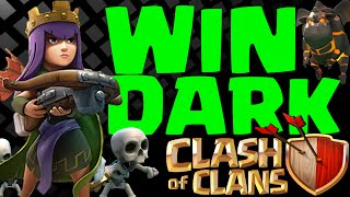 getlinkyoutube.com-CLASH OF CLANS Best Dark Elixir farming Strategy Farm Heroes to MAX