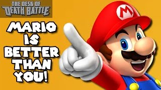 getlinkyoutube.com-Mario is Better than You! | Desk of DEATH BATTLE!