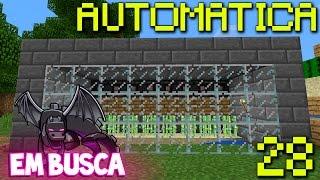 getlinkyoutube.com-Farm de Cana 100% Automática - Minecraft PE: 1.0 Em Busca do Dragão EP.28