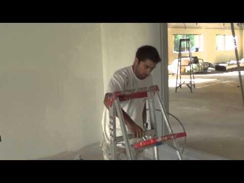 Pintura de parede com maquina airless