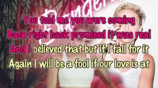 getlinkyoutube.com-Miley Cyrus - Drive [Karaoke / Instrumental]