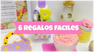 6 Regalos caseros faciles\ideas para regalar\manualidades