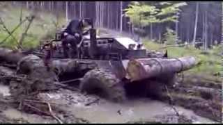 getlinkyoutube.com-Collecting trees in Siberia | Zwózka drzew na Syberii