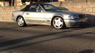 getlinkyoutube.com-Mercedes Benz SL600 V12 drive and review (R129)