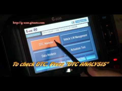 G-scan Hyundai Terracan Fuel Leakage Test