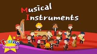 Kids vocabulary - Musical Instruments - Orchestra instrument - English educational video for kids