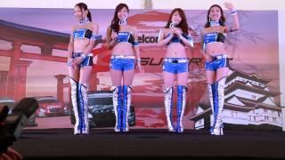 getlinkyoutube.com-2013 SUPER GT Rd.3 SEPANG SUBARU BRZ GT GALS BREEZE