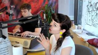 "Karmin ""Look at Me Now"" live at B97"