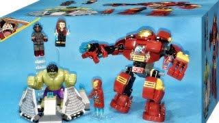 getlinkyoutube.com-레고 헐크 버스터 스매시 76031 마블 슈퍼히어로 어벤져스 조립 리뷰 Lego The Hulk Buster Smash