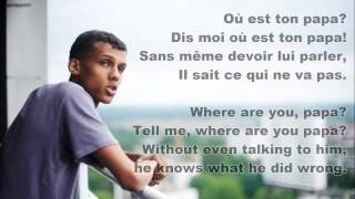 getlinkyoutube.com-Sromae- Papaoutai (French & English Lyrics)