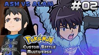 getlinkyoutube.com-Pokemon Battle Multiverse 2: Trainer Ash VS Trainer Alain