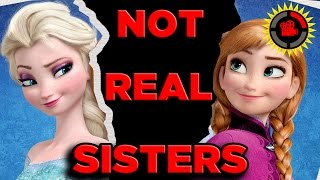 getlinkyoutube.com-Film Theory: Disney's FROZEN - Anna and Elsa Are NOT SISTERS?!