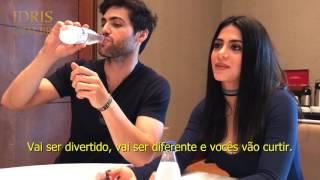 """getlinkyoutube.com-Encontro em São Paulo com o elenco de """"Shadowhunters"""" - Matthew Daddario e Emeraude Toubia"""