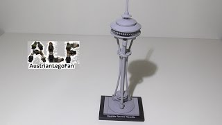 getlinkyoutube.com-Lego Architecture 21003 Seattle Space Needle - Lego Speed Build Review