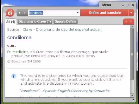 Definición de condiloma