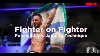 Fighter On Fighter: Santiago Ponzinibbio's Jabbing Technique - UFC Fight Night 113