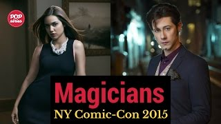 NYCC 2015: Summer Bishil e Hale Appleman de The Magicians