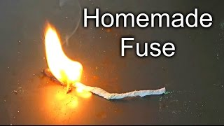 How to Make a Fuse - Test