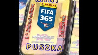 getlinkyoutube.com-MINI Puszka FIFA 365 - karty Panini - Adrenalyn xl - limited edition - cards tin - Nowość