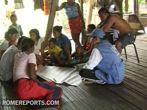 Indigenous of Latin America receive direct help from the pope