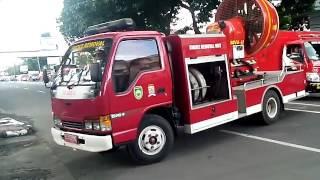 getlinkyoutube.com-Mobil Pemadam kebakaran Palembang.