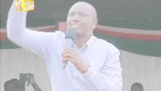DP William Ruto's speech in Kisii County