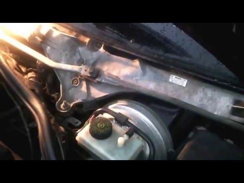 Мерседес S-320 w220 ремонт клапанов печки