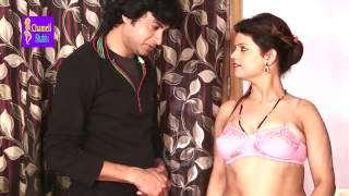 Desi housewife romance with bra seller