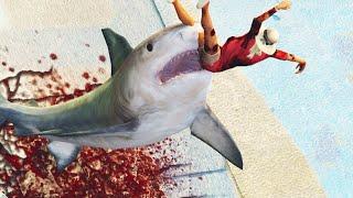 getlinkyoutube.com-EXTREME SHARK MOD! (GTA 5 Mods Funny Moments)