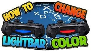 getlinkyoutube.com-How to Change PS4 Controller Light Bar Color