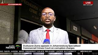 Duduzane Zuma arrives in court width=