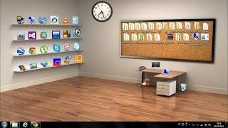 getlinkyoutube.com-How to make a Beautiful Classic 3D Desktop in Windows