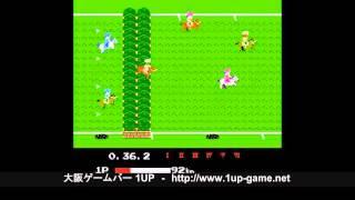getlinkyoutube.com-【1UP】ファミコン(FC)名作「ファミリージョッキー」5分間プレイ