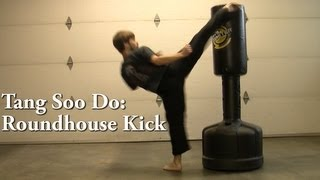 getlinkyoutube.com-Tang Soo Do: Roundhouse Kick Tutorial