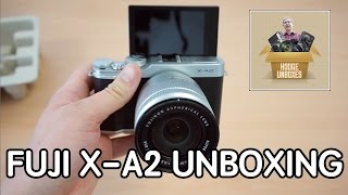 getlinkyoutube.com-HODGE UNBOXES - Fujifilm X-A2