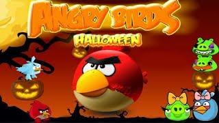 Angry Birds Halloween Adventure Game Walkthrough Levels 1-3