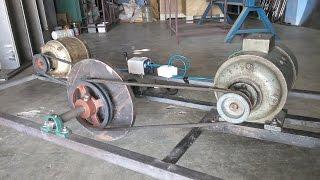 getlinkyoutube.com-Flywheel Free Energy Generator