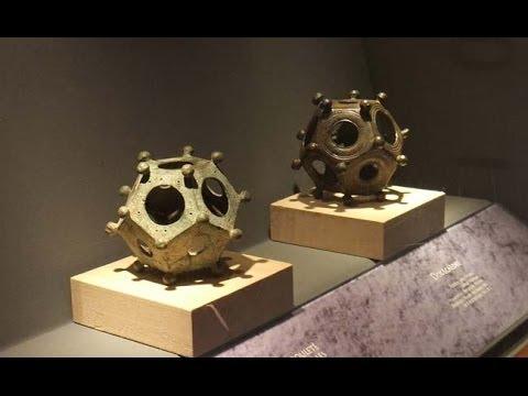 Misterioso artefacto antiguo. El Dodecaedro Romano