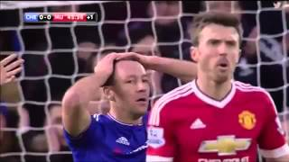 getlinkyoutube.com-CHELSEA VS MANCHESTER UNITED 1-1|  HIGHLIGHTS  (ENGLISH COMMENTARY)  07-02-2016 HD
