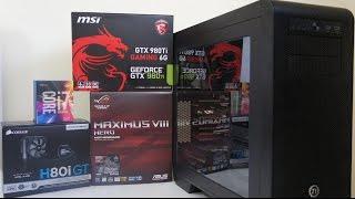 getlinkyoutube.com-INTEL i7 6700K GTX 980 Ti Gaming PC