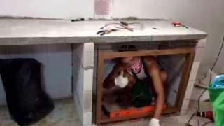 getlinkyoutube.com-ทำตู้เคาน์เตอร์ ห้องครัวเอง
