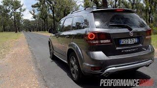 getlinkyoutube.com-2015 Fiat Freemont Crossroad V6 0-100km/h & engine sound