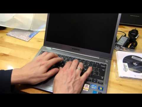Samsung Series 5 Ultrabook Unboxing and Overview